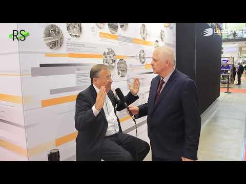 Rainer Buchmann, CEO Dematic Central Europe, im Gespräch mit CR HaJo Schlobach