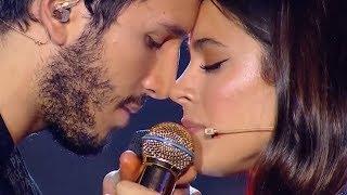 Sebastián Yatra y Tini cantan Un Año en el programa de Sus...
