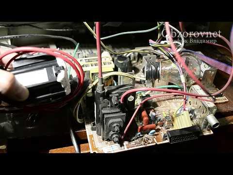 видео: Телевизор samsung не включается