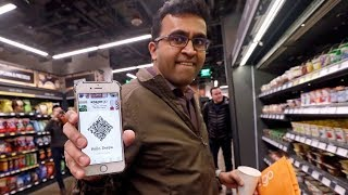 This guy tried to shoplift from the new Amazon Go store