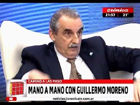 Guillermo Moreno en Cronica TV 27/07/17