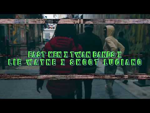 East Ken x Twan Bands x LIE Wayne x Skoot Luciano –  4 Fa 4 (Shot By Dexta Dave)