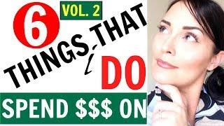MINIMALISM ● SIX (6) THINGS THAT I *DO* SPEND MONEY ON ● FRUGAL MINIMALIST