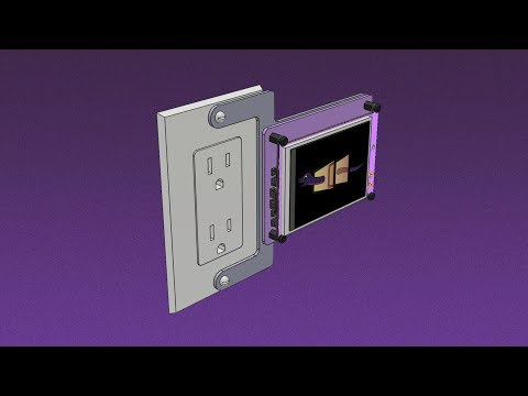 Fusion 360 Tutorial – Wall Plate for PyPortal