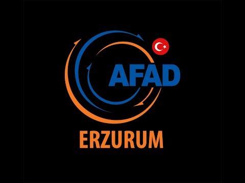 AFAD Erzurum Daima Hazır (TRT HABER)
