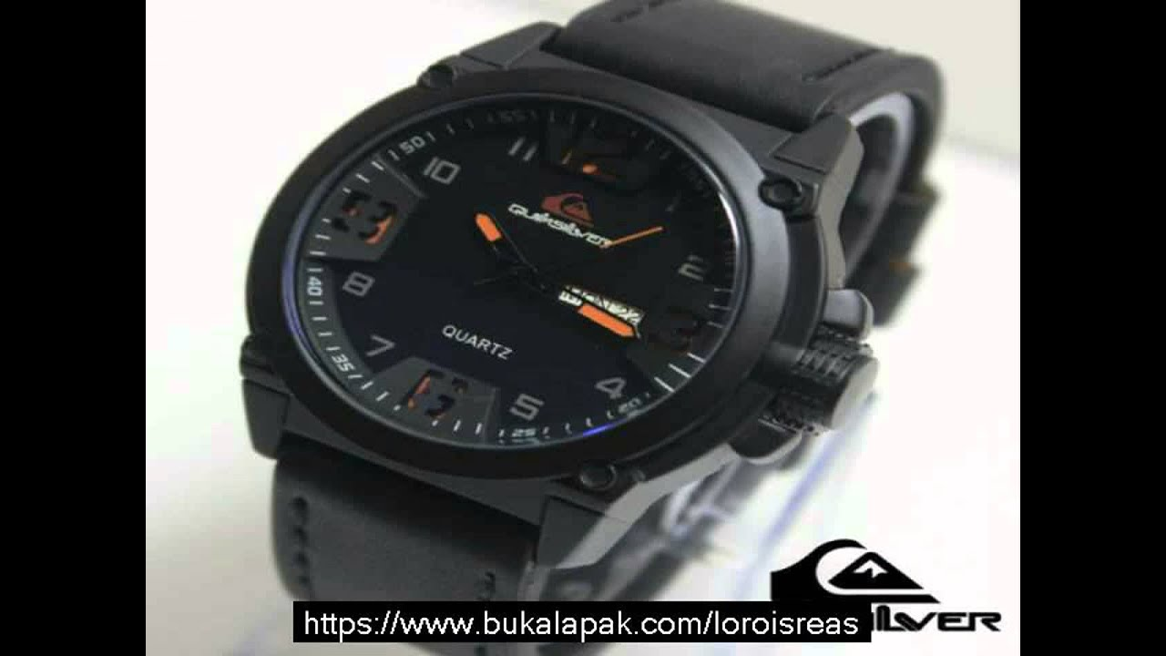 Expedition 6658fubl Chronograph Watch Jam Tangan Pria Strap Kulit Hitam Youtube