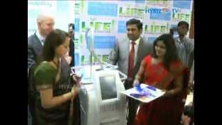 Jayaprada launching zeltiq cool sculpting in Hyderabad LIfe Slimming and cosmetic clinic Thumbnail