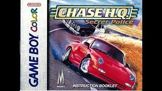 Chase HQ Secret Police (GBC)