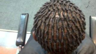 how to do dread locks and twist tutorial