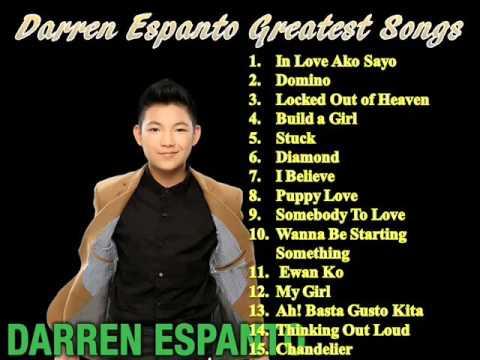 Darren Espanto Greatest Songs - YouTube