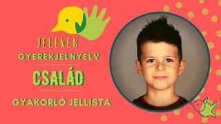 Jeleven online - GYAKORLÓ JELLISTA - TALÁLD KI! - Család témakör 3.