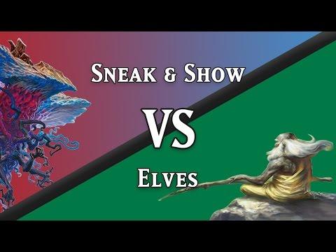 Sneak & Show vs. Elves (Legacy)