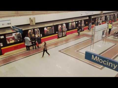 Metro Warszawskie stacja Wilanowska