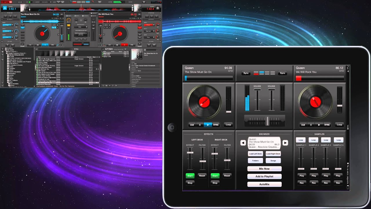 Review Virtual DJ iRemote 1 0 1 + Download IPA Free