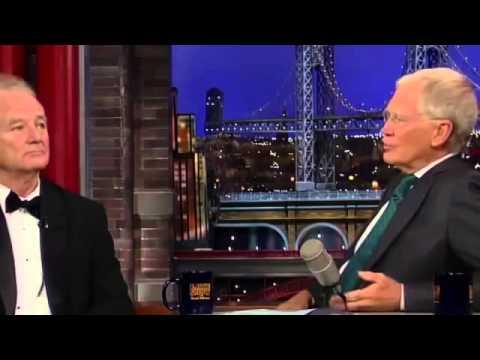 Bill Murray on David Letterman Full Interview