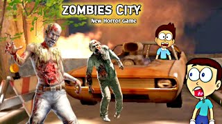 Horror Games Zombie City - Android Game | Shiva and Kanzo Gameplay