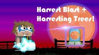 Growtopia | Harvest Blast + Harvesting Trees!