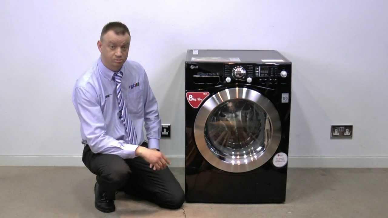 lg f1480yd6 review direct drive 8kg washer 6kg dryer rgb direct youtube. Black Bedroom Furniture Sets. Home Design Ideas