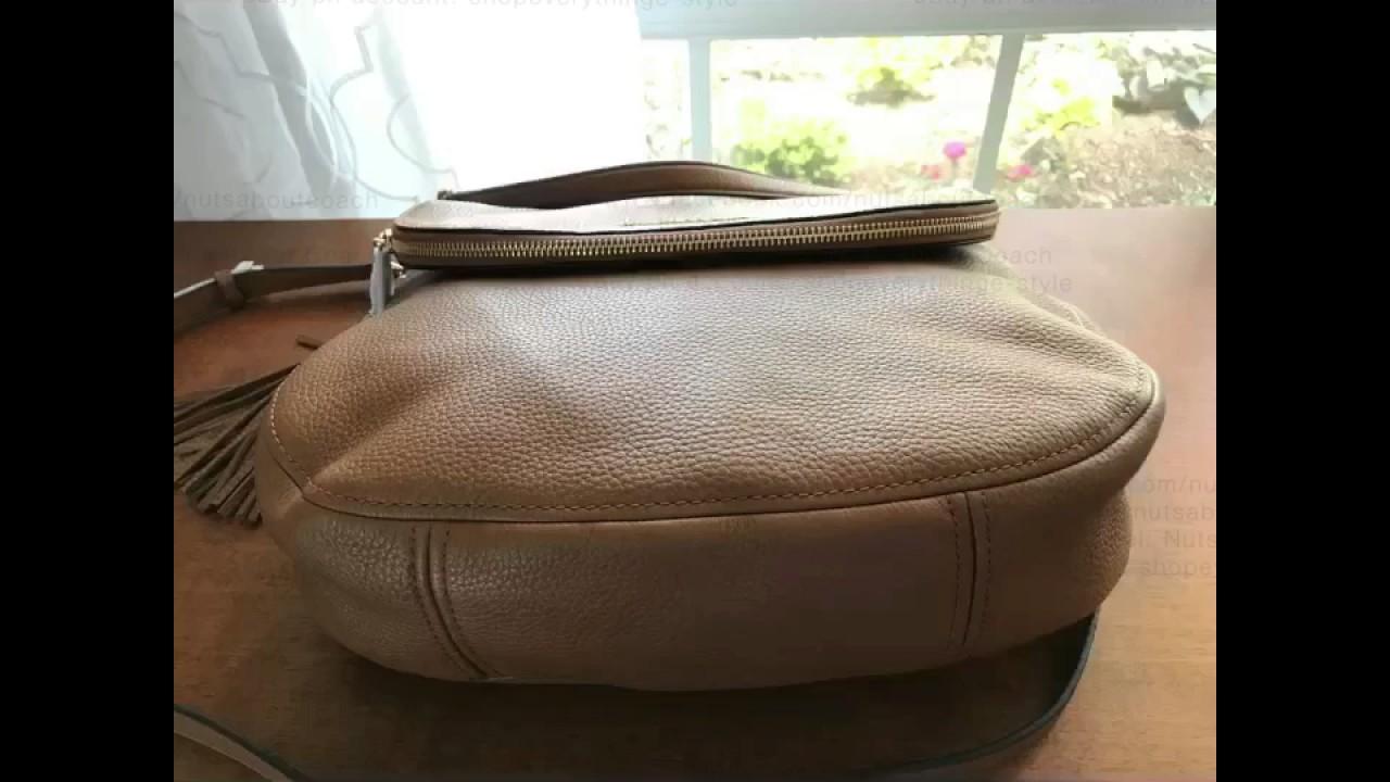 ff1e8405e66c ... denmark michael kors bedford large convertible tassle shoulder crossbody  bag luggage 1f6ef 8315b