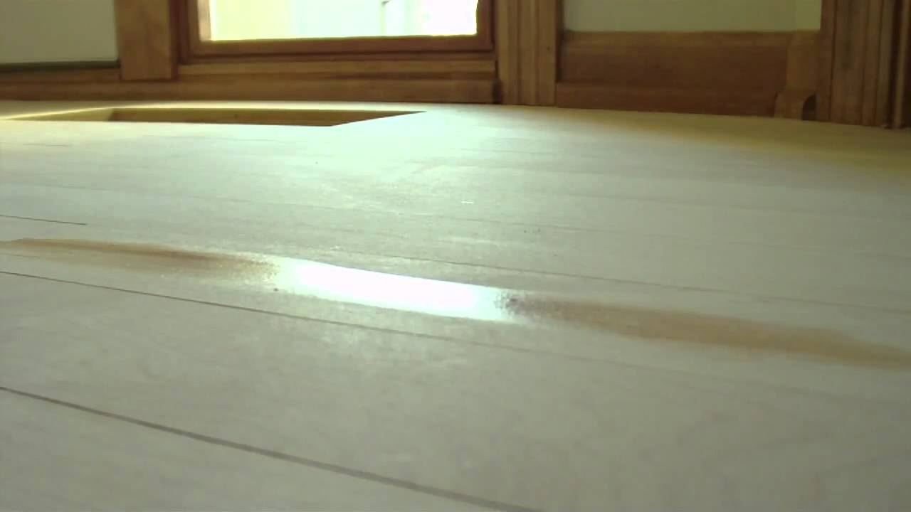Floorwright Refinish Wood Floor Training Video Using
