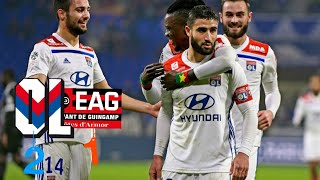 Lyon vs Guingamp 2-1 All Goals & Highlights