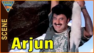 Arjun (Vijayendra Varma) Movie || Beautiful Introduction Scene Of Balakrishna || Balakrishna, Laya