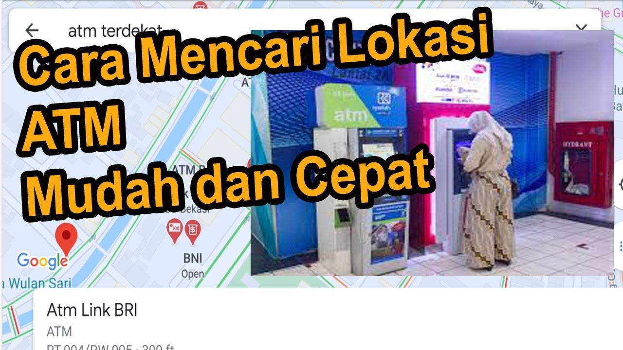 Mencari ATM terdekat - YouTube