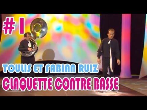 Fabien RUIZ et Eric TOULIS, Claquettes contre basse 1/2