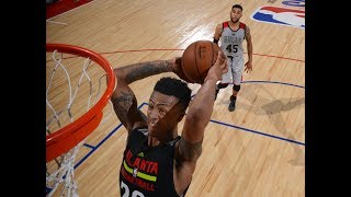 John Collins Puts On A Vegas Summer League Dunk Fest (Full Highlights)