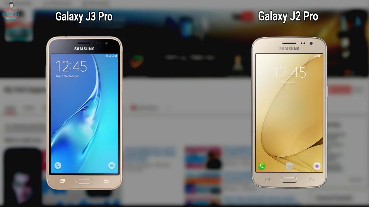 Perbandingan Samsung Galaxy J2 Pro Vs Samsung J3 Pro Youtube