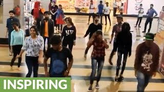 Video Flash mob turns into surprise marriage proposal download MP3, 3GP, MP4, WEBM, AVI, FLV Agustus 2018