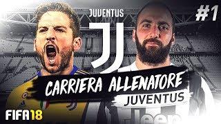 OBIETTIVO TRIPLETE!!! FIFA 18 CARRIERA ALLENATORE JUVENTUS #1