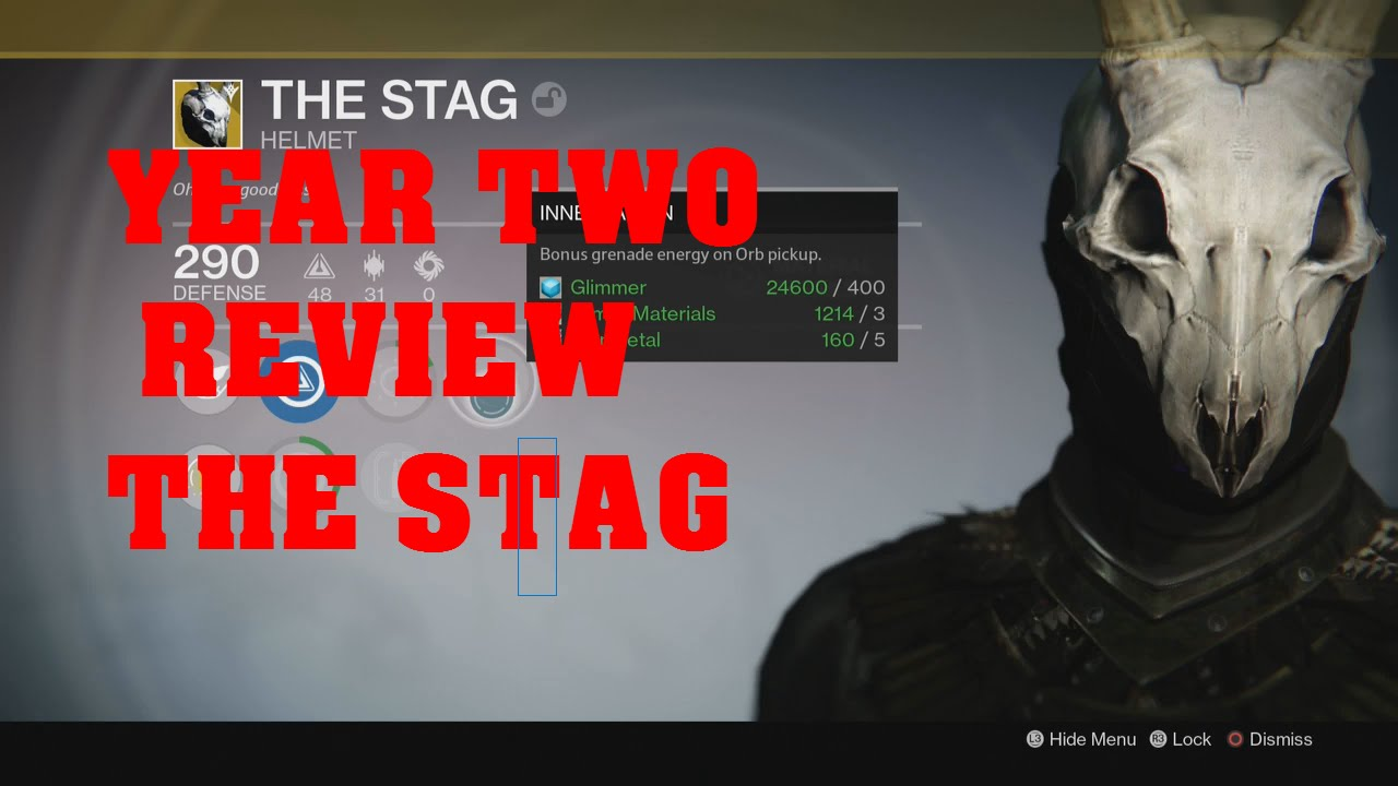 destiny stag helmet how to get