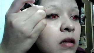 seras victoria/ makeup tutorial/ hellsing OVA
