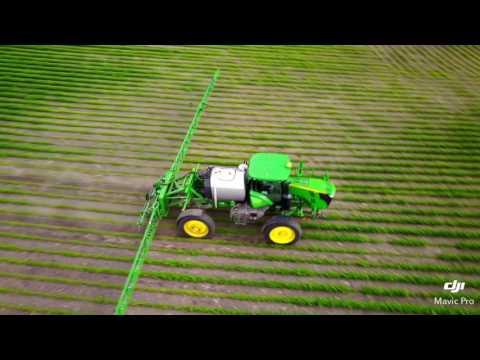 Bergh Farms July 2017 soybean spraying