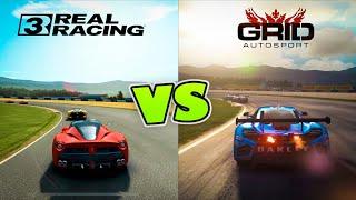 Real Racing 3 VS GRID Autosport Android/iOS GRAPHICS COMPARISON screenshot 5