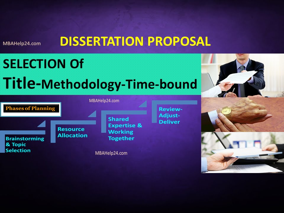 Thesis proposal models
