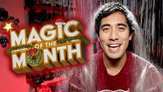 Zach Reacts to Your Christmas Magic   MAGIC OF THE MONTH - December 2019