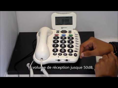 Geemarc CL555 - www.telephones-senior.com