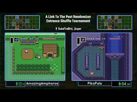 AmazingAmpharos vs PikaPals.  A Link To The Past Entrance Shuffle Tournament 2017