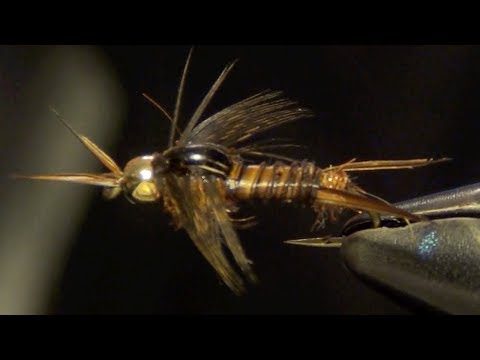 Poxyback Microstone Stonefly Fly Tying Instructions and Directions
