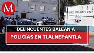 Mueren policías municipales tras balacera en Tlalnepantla