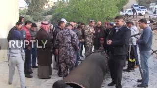 Jordan: Missile remains found in Jordan after Israel intercepts Syrian missile