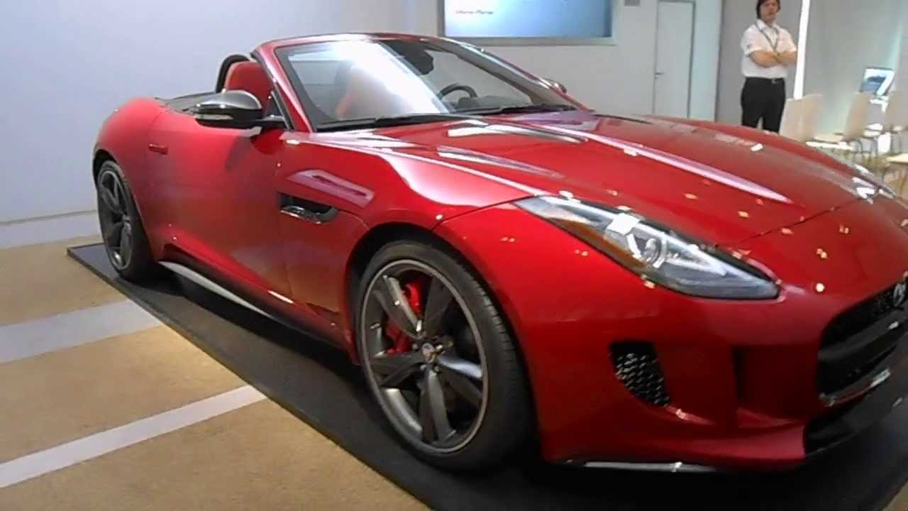 Jaguar F Type Convertible >> Jaguar F-Type Italian Racing Red 3.0 S V6 S/C 380 Cv - Jaguar Ravenna - 0544-502465 - YouTube