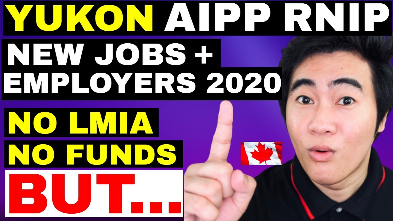 GOOD NEWS! YUKON  AIPP  RNIP  RIPP  OPEN FOR CANADA IMMIGRATION! STEP-BY-STEP