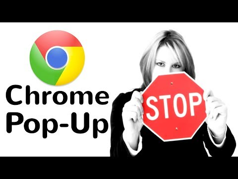 How to Stop Pop Up Window in Chrome 2019 - YouTube