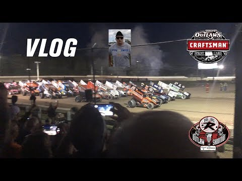 The Greatest Show On Dirt!! - Vlog to the World of Outlaws at Ransomville Speedway