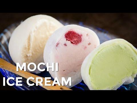how-to-make-mochi-ice-cream-(recipe)-もちアイスクリームの作り方(レシピ)
