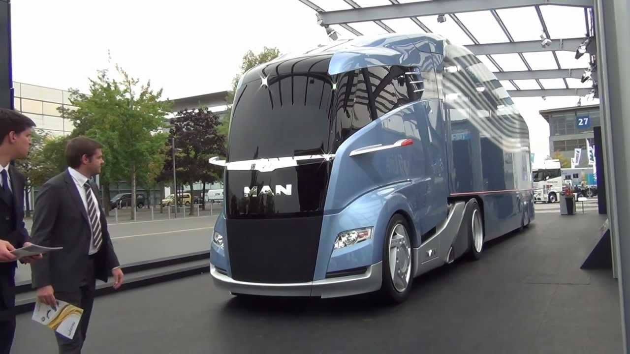 New 2012 Man Quot Spacetruck Quot Iaa Expo Hannover 2012 Youtube