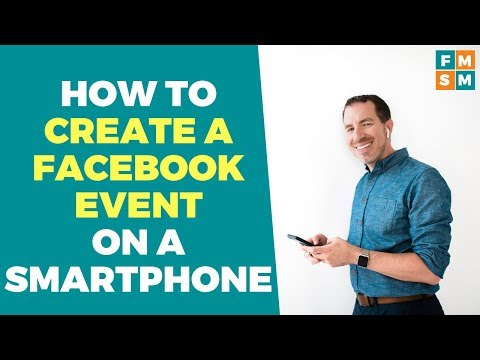 How To Create A Facebook Event On A Smartphone